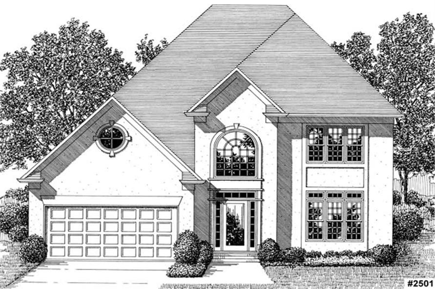 Main image for house plan # 14481