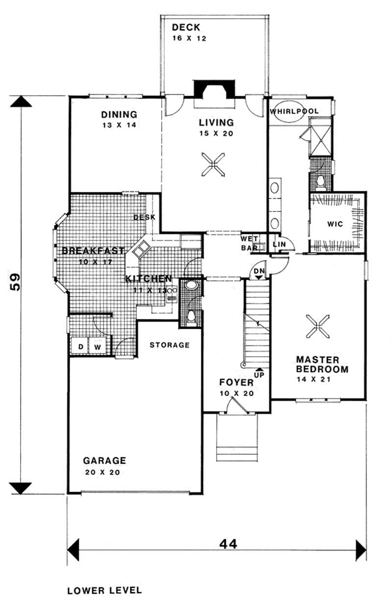 European french home with 3 bedrms 2580 sq ft plan for How much is 1100 square feet