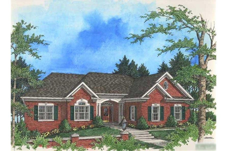 Main image for house plan # 14485