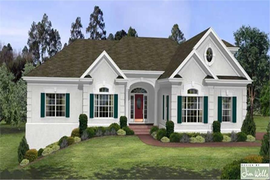 STUCCO RENDERING of this 3-Bedroom,2461 Sq Ft Plan -2461