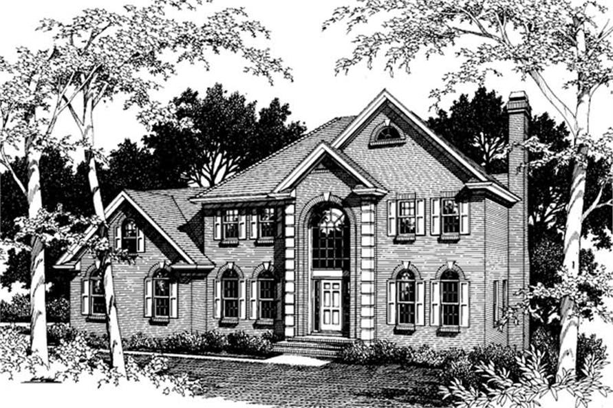 Main image for house plan # 14468
