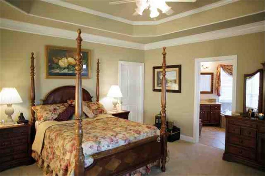 master Bedroom of this 4-Bedroom,1992 Sq Ft Plan -1992