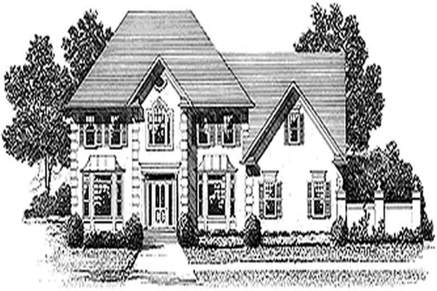 Main image for house plan # 14505