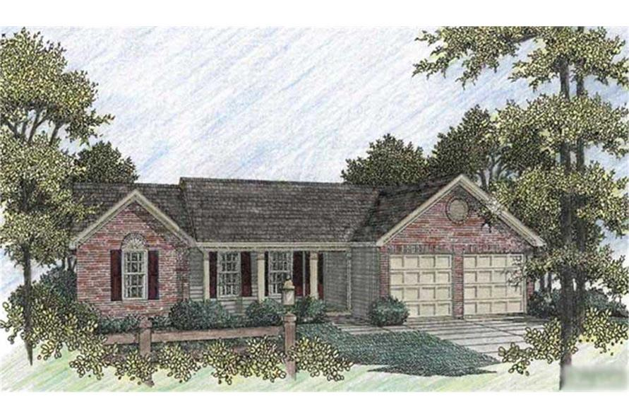 Main image for house plan # 14387