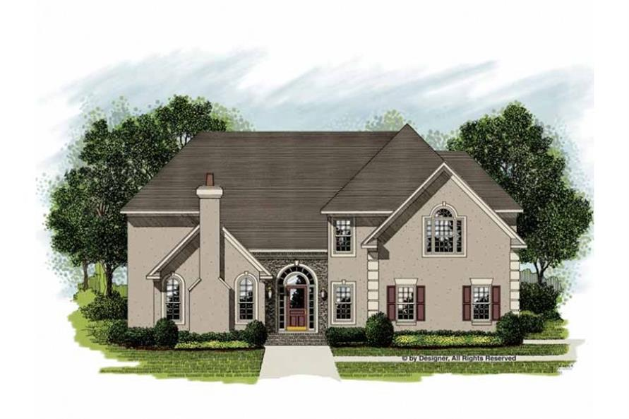 Main image for house plan # 14517