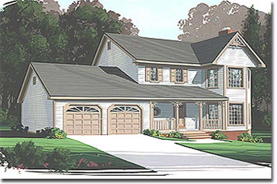 Main image for house plan # 14407