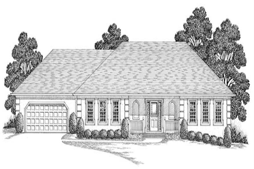 Main image for house plan # 14475