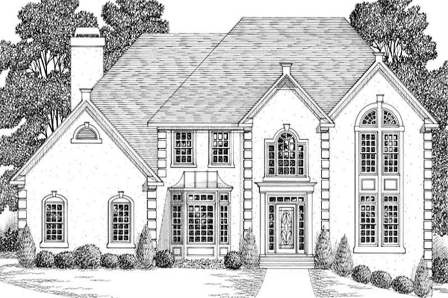 Main image for house plan # 14500