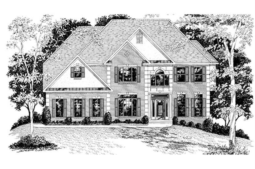 Main image for house plan # 14501