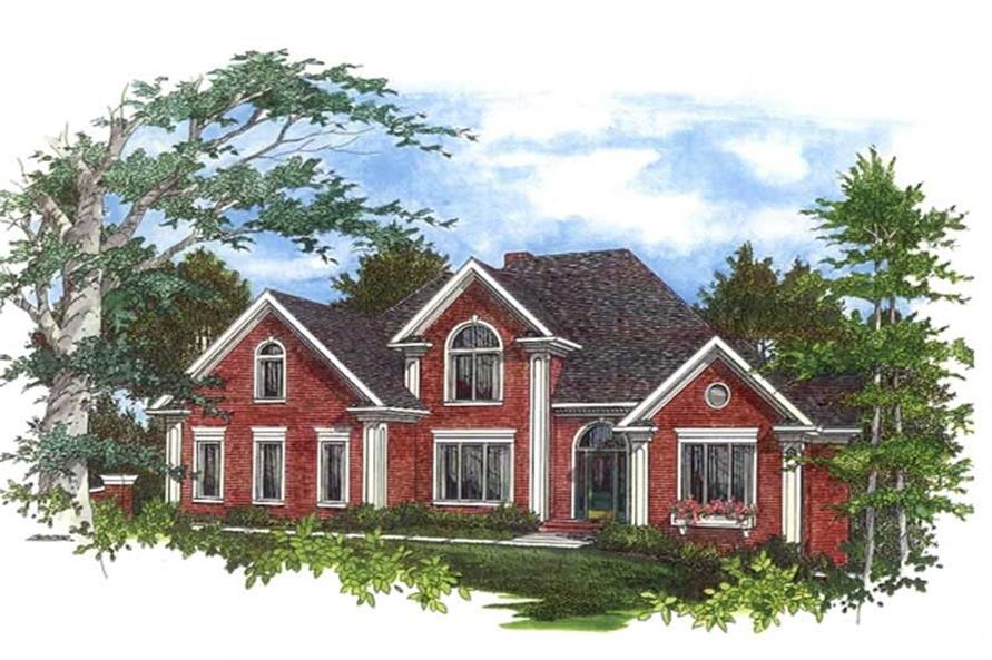 Main image for house plan # 14509