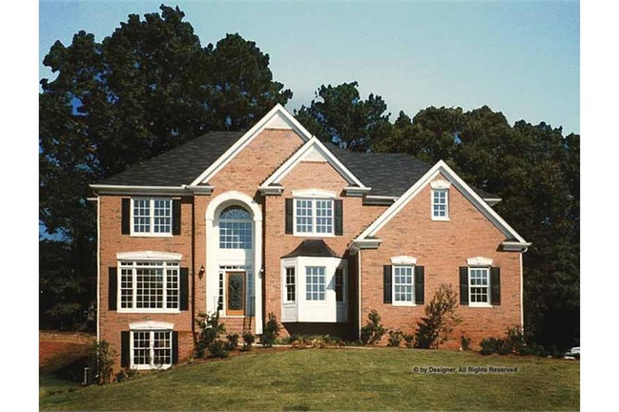 Photo of this traditional luxury home plan # 109-1160