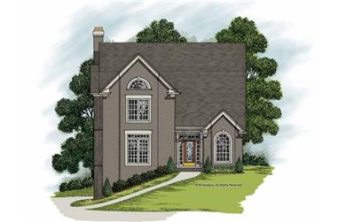 Main image for house plan # 109-1162