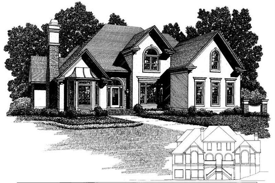 Main image for house plan # 14520