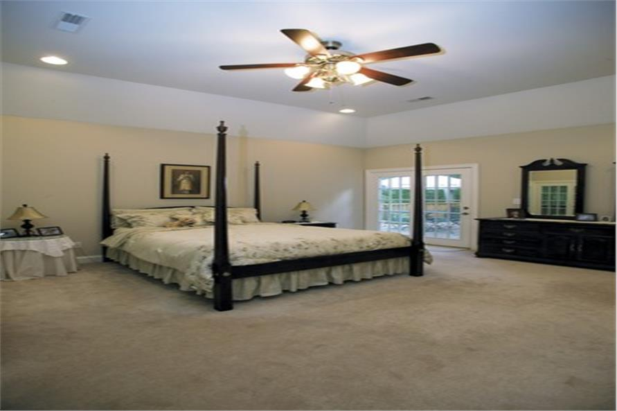 Master Bedroom of this 3-Bedroom,2088 Sq Ft Plan -2088