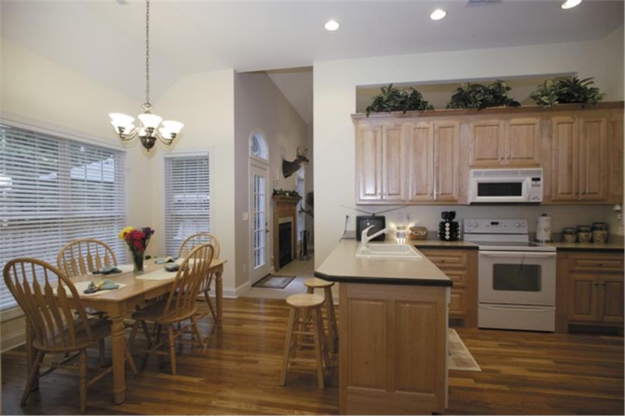Kitchen of this 3-Bedroom,2088 Sq Ft Plan -2088