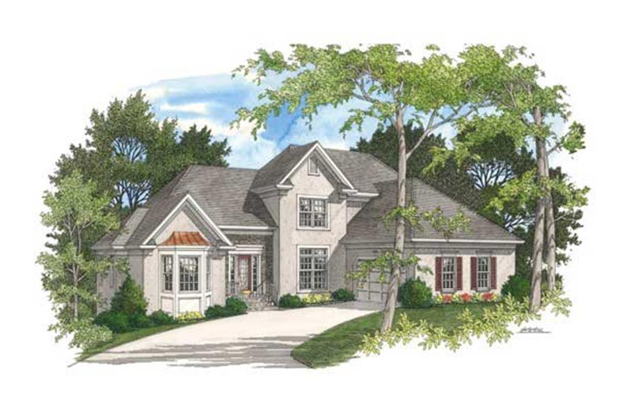 Main image for house plan # 14482