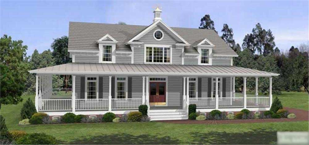 Country traditional home with 3 bedrms 2098 sq ft for Dormered cape