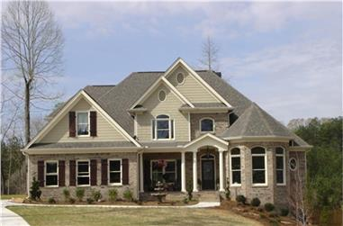 4-Bedroom, 2253 Sq Ft Country House Plan - 109-1179 - Front Exterior