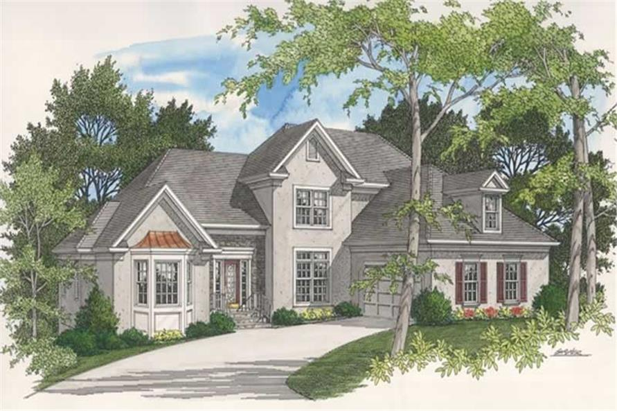 Main image for house plan # 14483