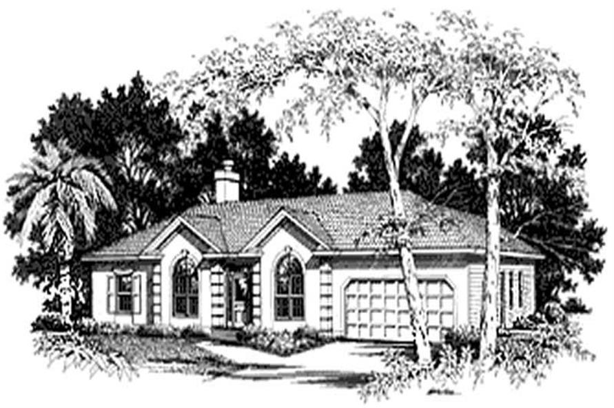 Main image for house plan # 14443