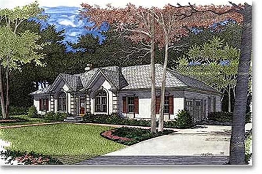 Main image for house plan # 14442