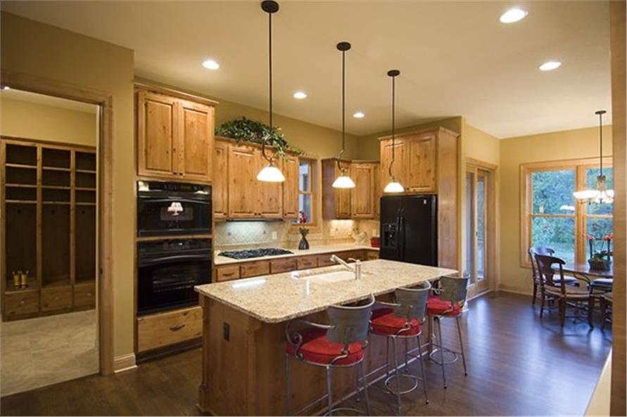 Kitchen of this 4-Bedroom,2909 Sq Ft Plan -2909