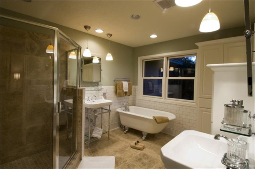 Master Bath of this 4-Bedroom,2909 Sq Ft Plan -2909