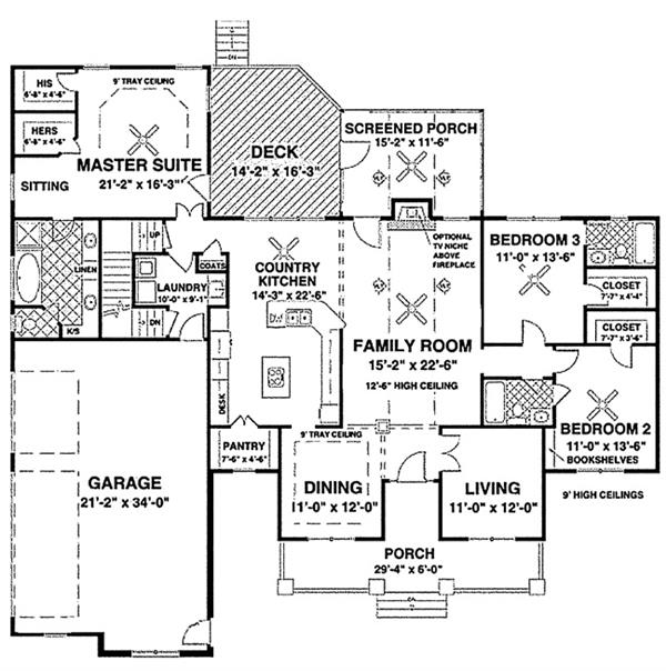 109-1193: Floor Plan Main Level