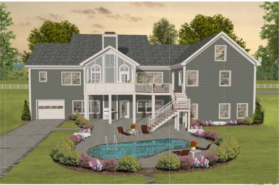 Porch of this 3-Bedroom,2156 Sq Ft Plan -2156