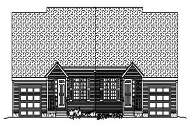 3-Bedroom, 3166 Sq Ft Multi-Level House Plan - 110-1002 - Front Exterior