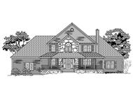 This is a black and white rendering of these Craftsman Homeplans.