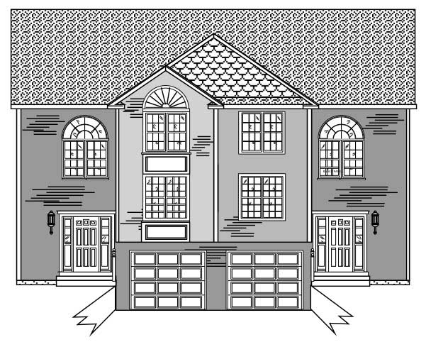 Multi Unit Home With 3 Bedrms 3046 Sq Ft Floor Plan