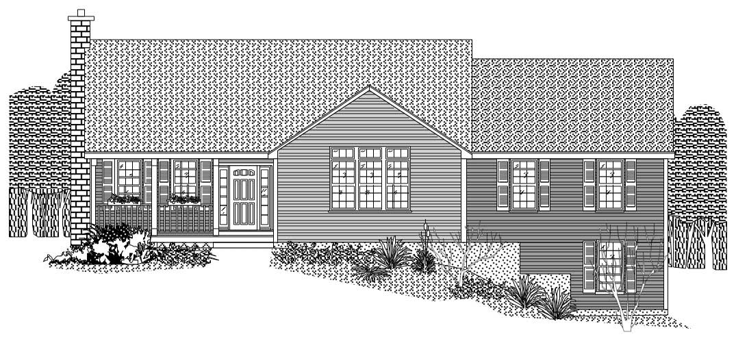 Country ranch home with 2 bedrms 1800 sq ft house 1800 square foot ranch house plans