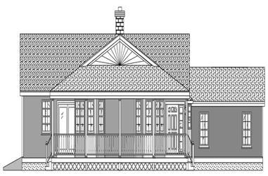 3-Bedroom, 1713 Sq Ft Home Plan - 110-1039 - Main Exterior