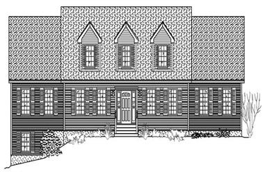4-Bedroom, 2677 Sq Ft Country House Plan - 110-1064 - Front Exterior