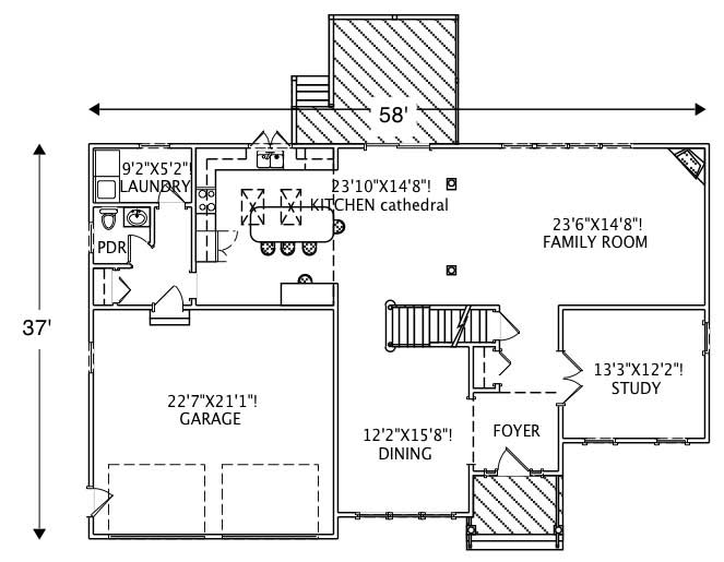 Country traditional home with 4 bedrms 3024 sq ft for 1077 marinaside crescent floor plan