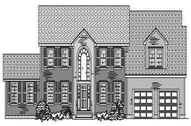 4-Bedroom, 3111 Sq Ft European Home Plan - 110-1100 - Main Exterior