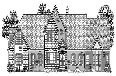 3-Bedroom, 3339 Sq Ft Cape Cod House Plan - 110-1108 - Front Exterior