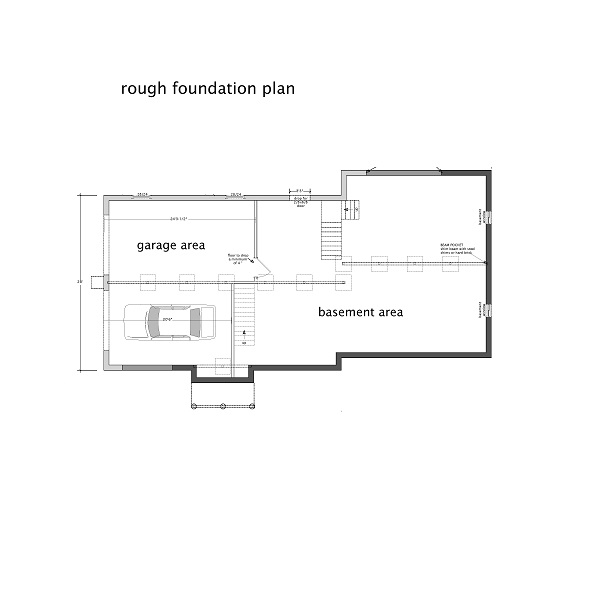 110-1110: Floor Plan Basement