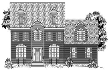 4-Bedroom, 3842 Sq Ft Country House Plan - 110-1112 - Front Exterior
