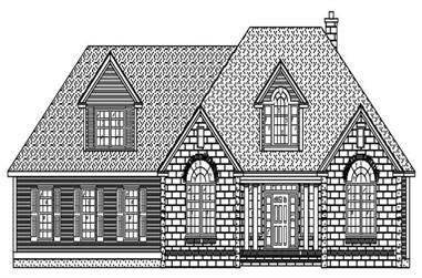 3-Bedroom, 2262 Sq Ft European Home Plan - 110-1119 - Main Exterior