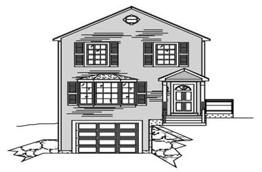 3-Bedroom, 3074 Sq Ft Multi-Unit House Plan - 110-1127 - Front Exterior