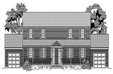 3-Bedroom, 2612 Sq Ft Multi-Unit House Plan - 110-1135 - Front Exterior