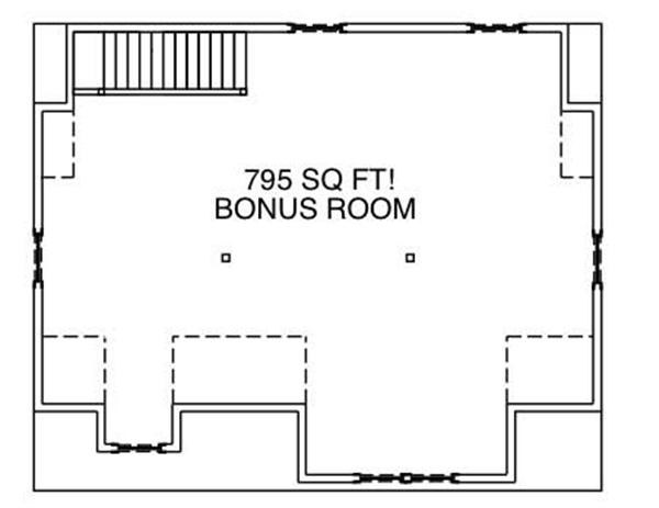 Floor Plan Bonus Room