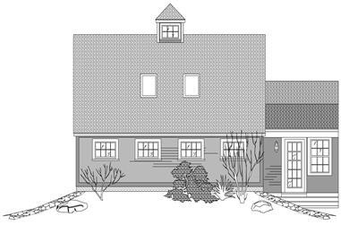 0-Bedroom, 534 Sq Ft Garage Home Plan - 110-1139 - Main Exterior