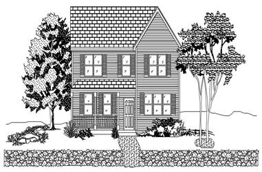 3-Bedroom, 1646 Sq Ft Country House Plan - 110-1141 - Front Exterior