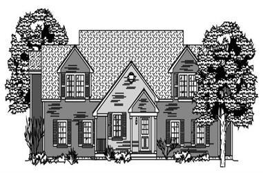 3-Bedroom, 2838 Sq Ft Multi-Unit Home Plan - 110-1155 - Main Exterior