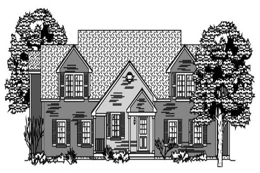 3-Bedroom, 2838 Sq Ft Multi-Unit Home Plan - 110-1155 - Main Exterior