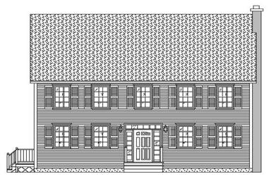 Image: Traditional House Plans Front Elevation