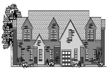 3-Bedroom, 4742 Sq Ft Multi-Unit Home Plan - 110-1188 - Main Exterior